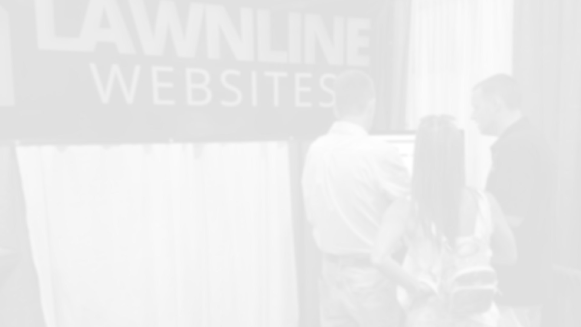 Lawnline Co-Founder/CEO, Tony Ricketts, teaching clients about websites and marketing.