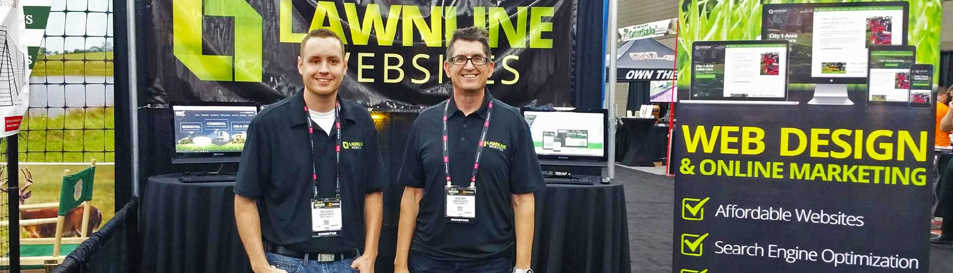Founders Tony and David at GIE Expo 2016 in Louisville, KY.
